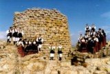 Nuraghe in Sardinia South Italy